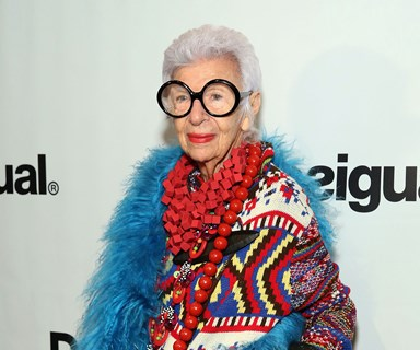Fashion queen Iris Apfel