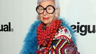 Fashion queen Iris Apfel