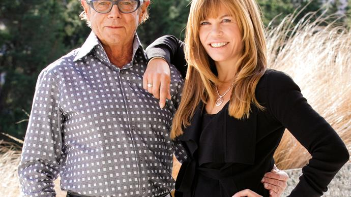Sir Michael Hill and daughter Emma Hill