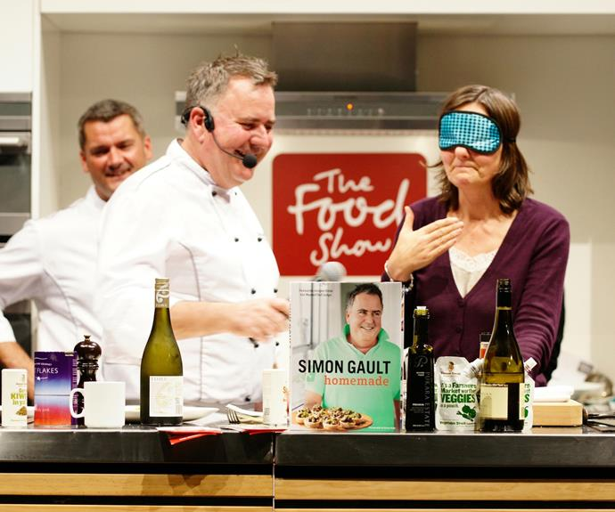 Simon enjoys a busy lifestyle, including taking part in The Food Show.