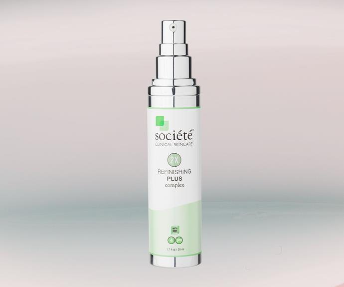 Societe Clinical Skincare Refinishing Plus Complex, $135.70.