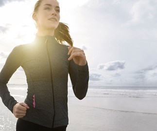 Running has great health benefits.