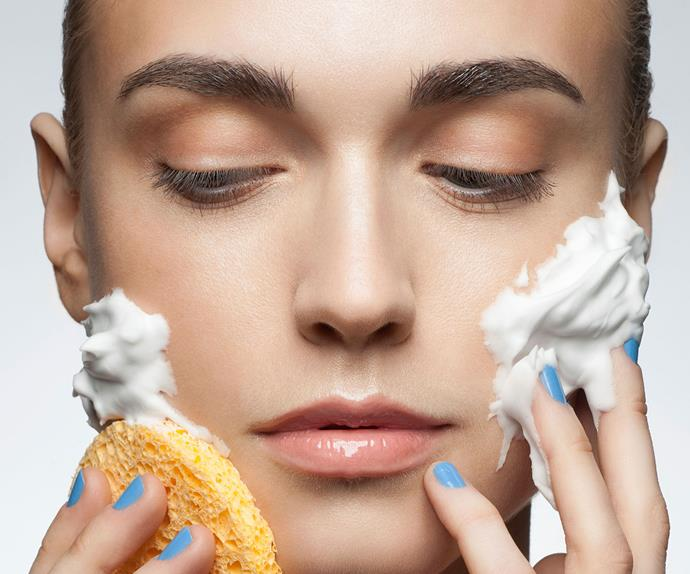 Cleansing is the first step of any beauty routine.