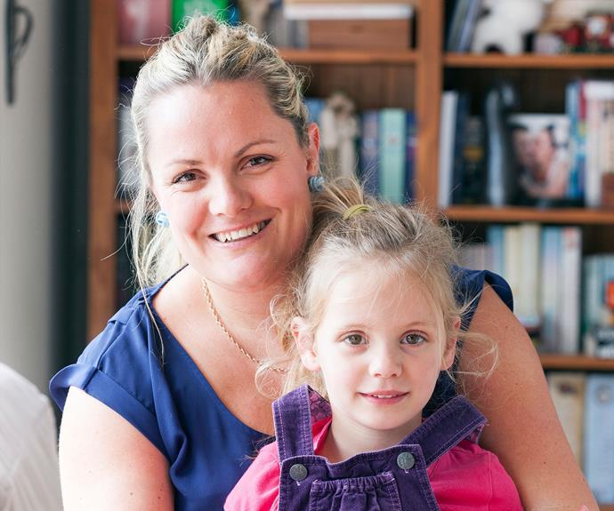 "Emma Purdue, the ""sleep nanny"", with her daughter, Caitlyn. Photo: Nicola Edmonds"