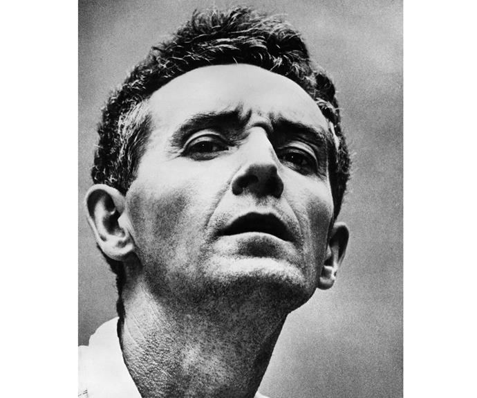 Folk legend Woody Guthrie. Police thought he was a vagrant when they picked him up wandering a New Jersey highway in the 1950s. He spent his final years in a state hospital, before dying of Huntington's at the age of 55.