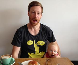 New dad reports from the parenting frontline.