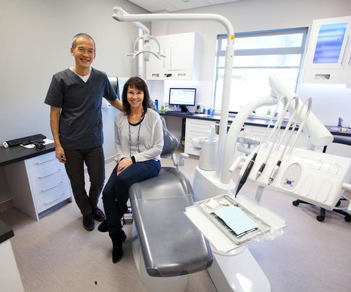 Wanaka dentist Tony Wong and his wife, Margo.