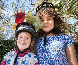 Anya Johnson and Inia English, Geraldine locals.