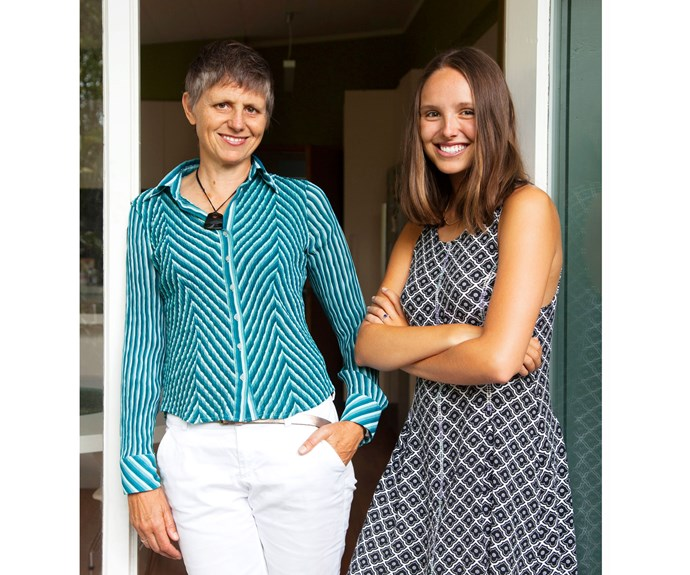 Dr Mary Seddon with her daughter, Kate, 20, a medical student at Otago.