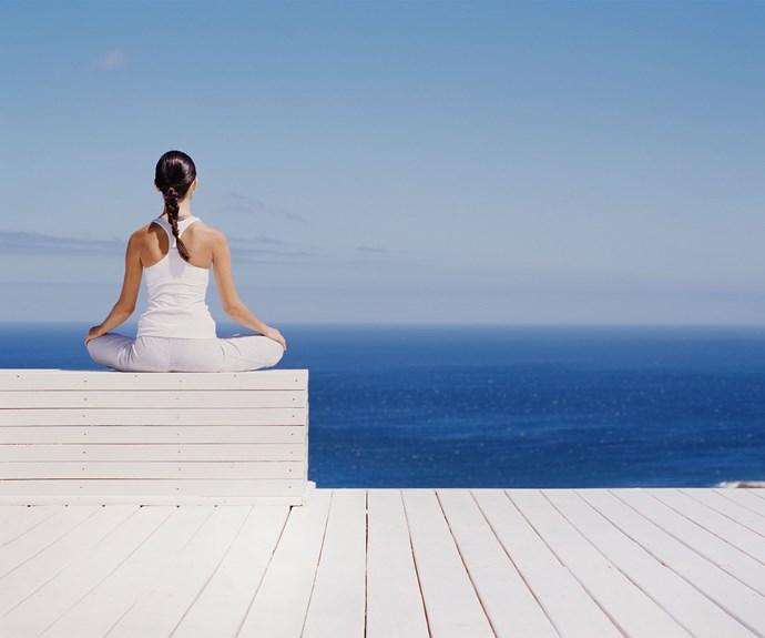 Meditation wellness