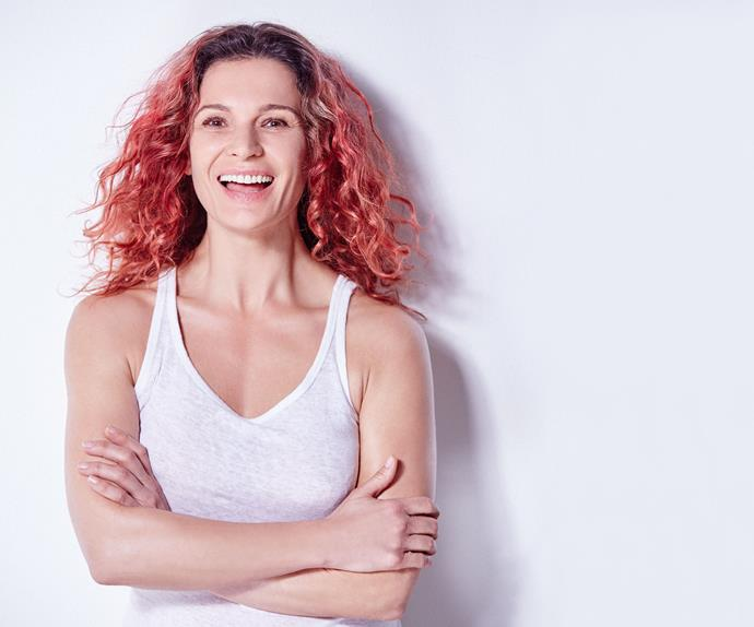 Danielle Cormack with no makeup