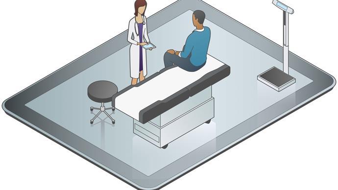 Digital health care.