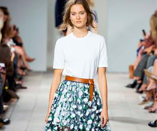 Michael Kors blooms in for spring and an interview with Willa and Mae designers.