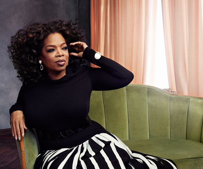 Oprah Winfrey talks about her family, career and the tragedy that shaped her life