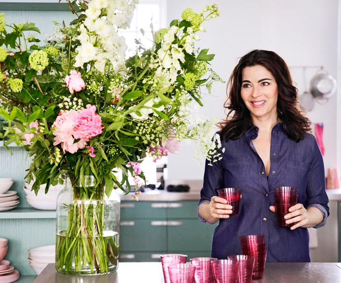 Nigella Lawson is starting again fresh with her new cookbook, Simply Nigella