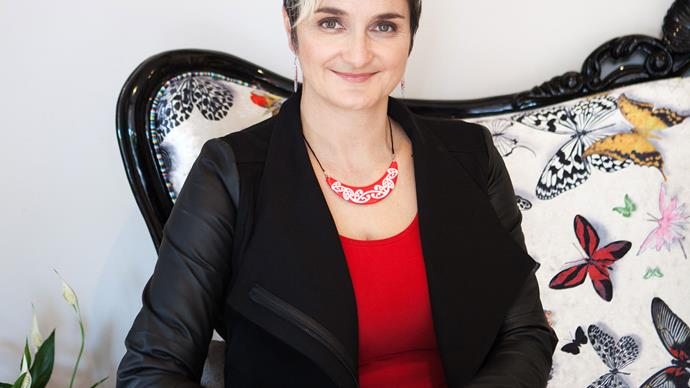 Hana O'Regan is proud of her Maori blood and heritage, was a key part of the NZ flag debate.