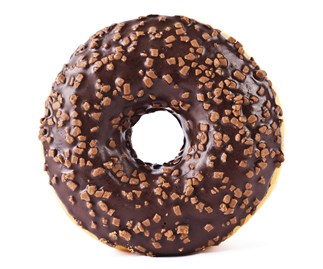 doughnuts and cronut are hot right now and are a trending food.