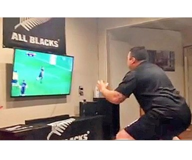 The All Blacks' biggest fan