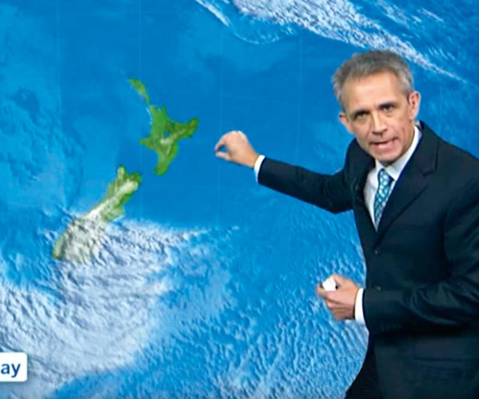 The happily married weather forecaster's presenting style has won him a global following.