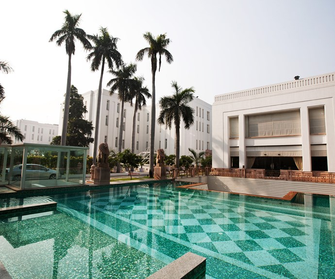 The Imperial Hotel in New Delhi.