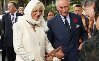 Charles and Camilla arrive in New Zealand