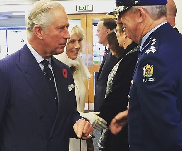 IN PICTURES: Charles and Camilla arrive in New Zealand