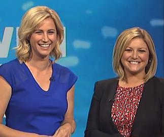 Seven Sharp presenters Toni Street and Pippa Wetzell