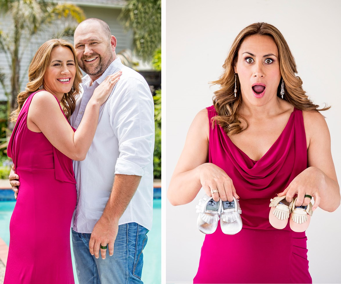 """**Nov 13, 2015** Not long after walking down the aisle, [Jenny-May and Dean announced that they were having twins.](http://www.womensweekly.co.nz/latest/celebrity/twins-tears-and-prayers-jenny-may-and-deans-next-big-challenge-17403