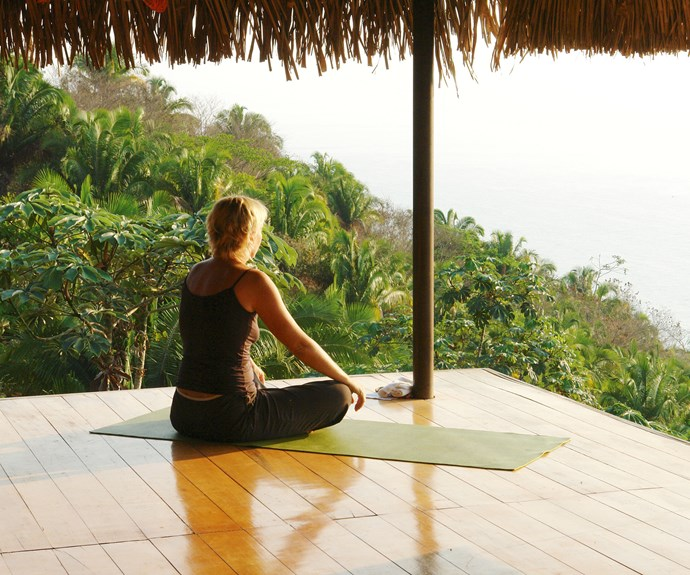 Annabel's time in Tulum gave her a chance to relax and indulge in some much-needed yoga.