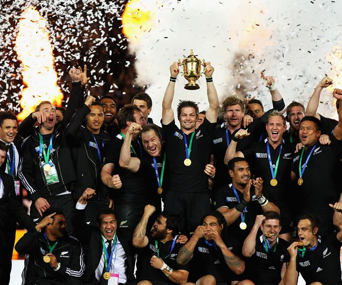 After the successful Rugby World Cup win in 2011.
