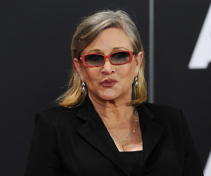 Carrie Fisher 'pressured' to lose 16kg for new Star Wars movie