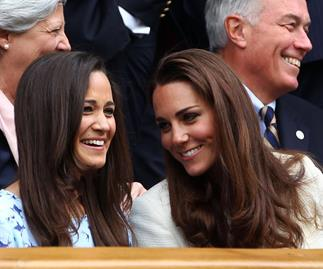 Kate's night out with Carole and Pippa