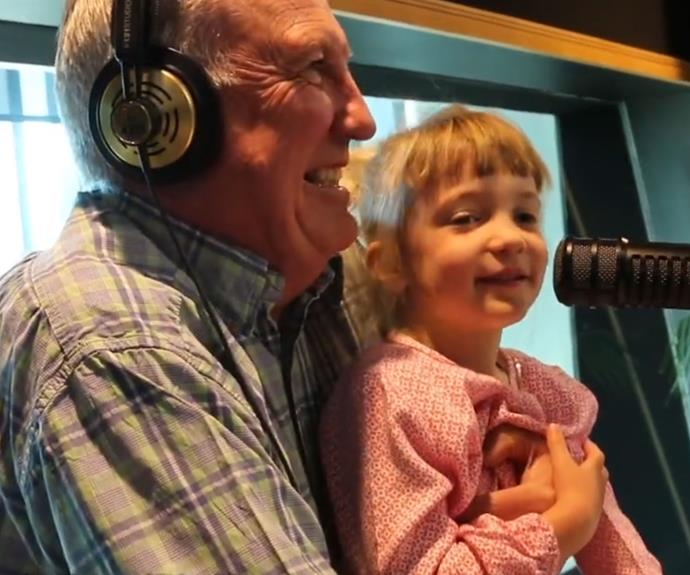 Gary McCormick's girls tell on him in adorable video