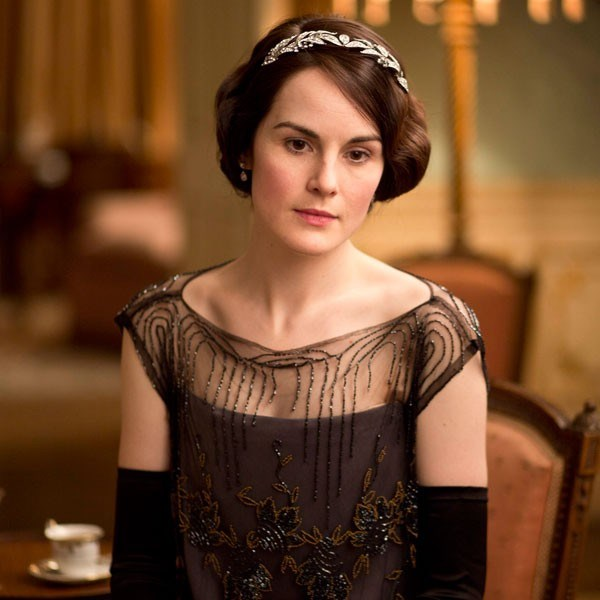 Michelle Dockery as Lady Mary Crawley in Downton Abbey.