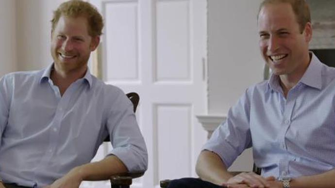 Prince William swears during TV interview