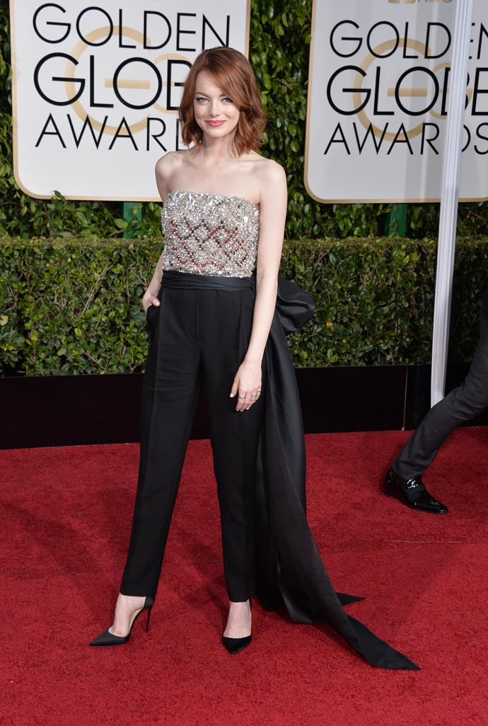 Emma Stone jumped up her game in 2015.