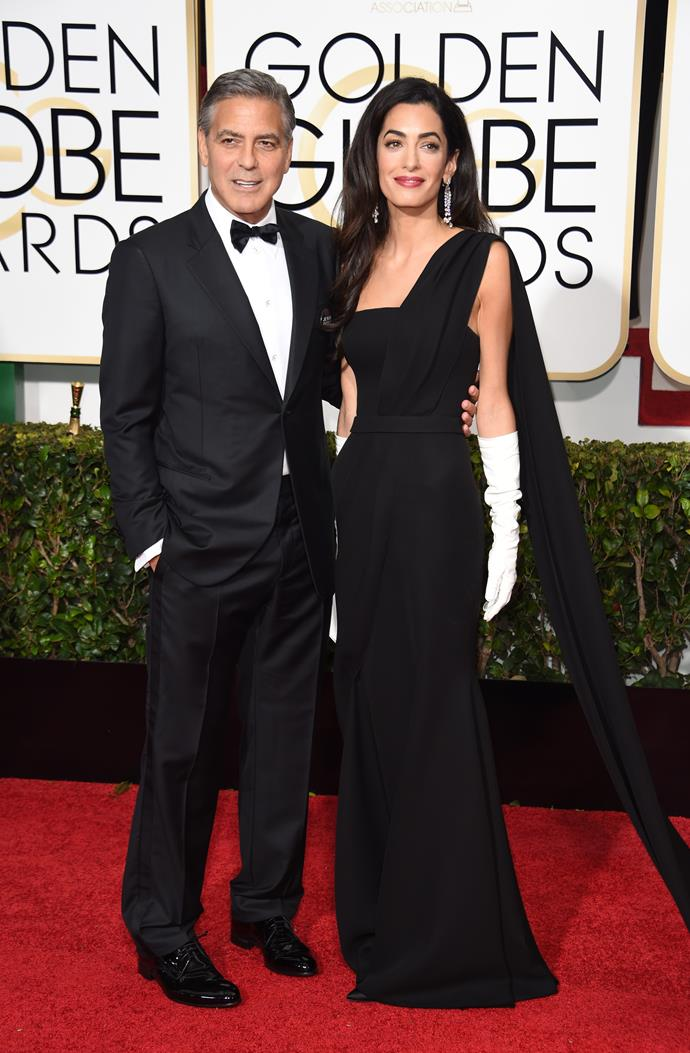 Remember when Amal made her first Golden Globes debut next to her hubby George Clooney in 2015?