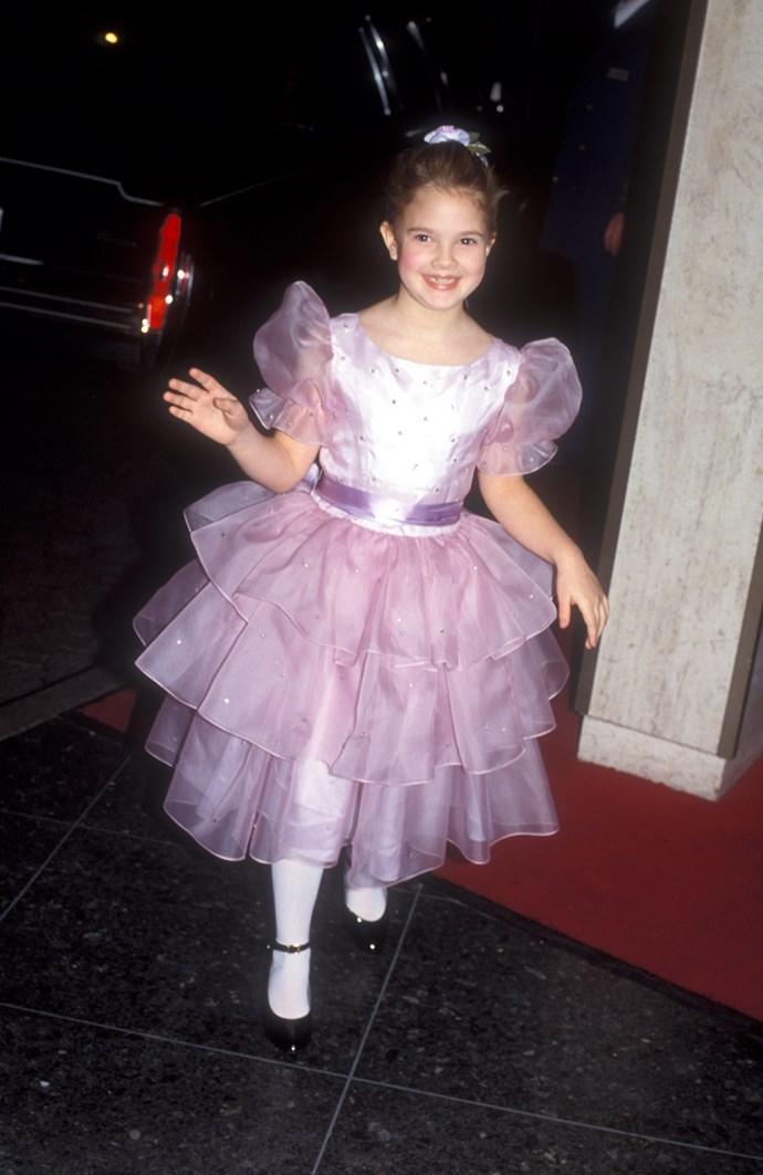 Drew Barrymore looked so cute in 1983.