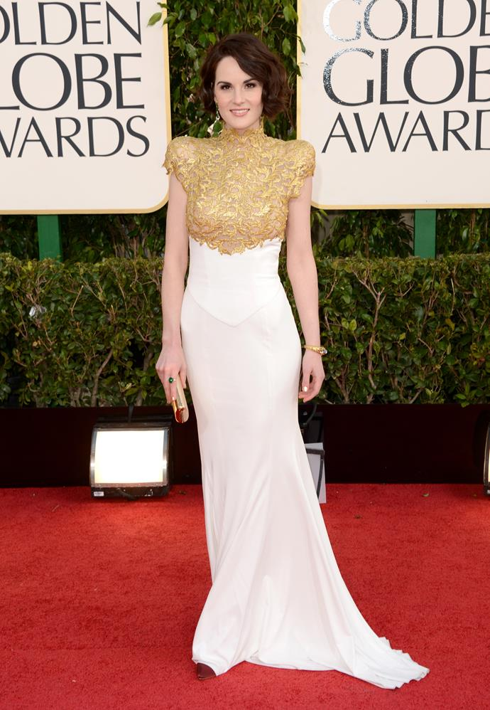 Michelle Dockery could do no wrong at the 2013 event.