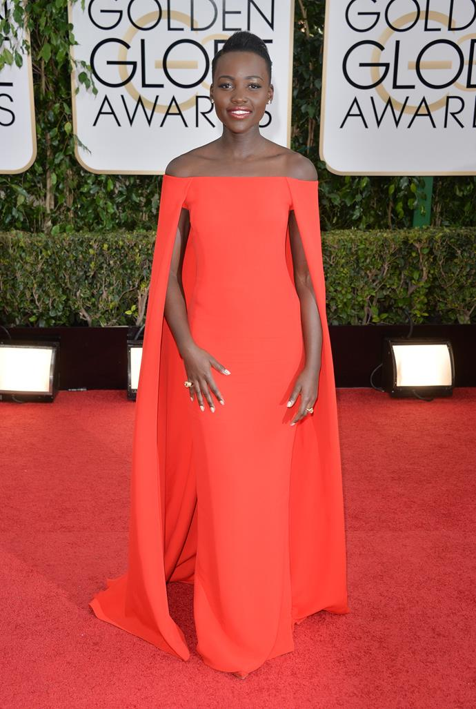 Lupita Nyong'o looked incredible in 2014 with this gorgeous gown.