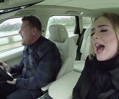 Adele joins James Corden for Carpool Karaoke