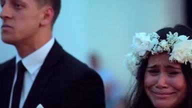 Emotional haka at wedding goes viral