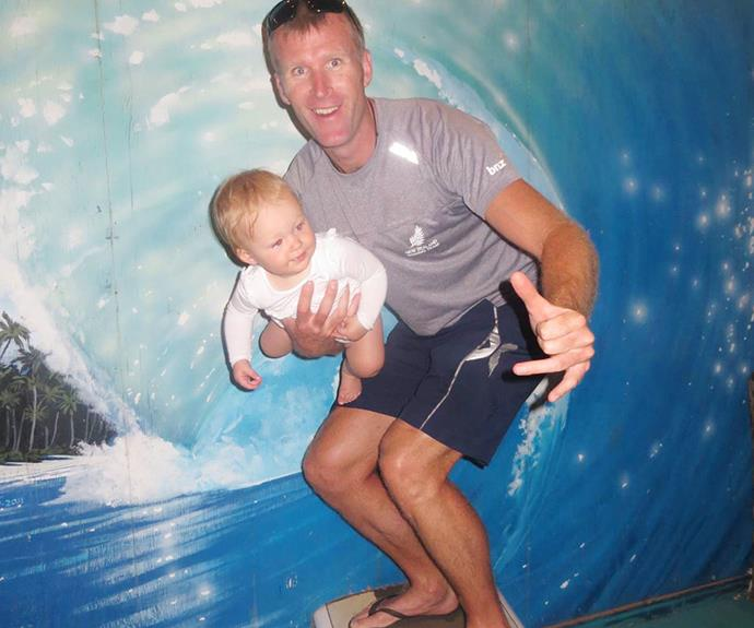 Brontë couldn't get enough of the water slide in Kauai and took part in a family hike in Honolulu.