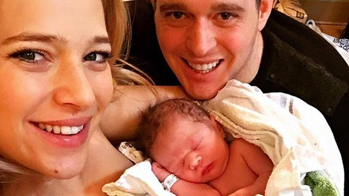 Michael Bublé welcomes second son