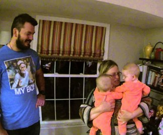 Grandma meets NZ grandchildren for the first time in surprise visit