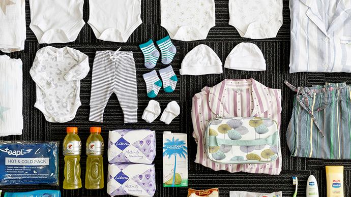 What women worldwide pack in their maternity bags for childbirth
