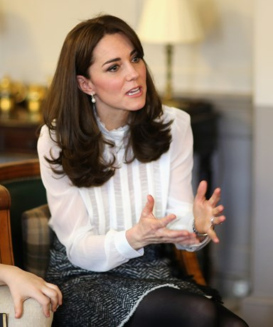 "Kate Middleton admits she ""would not hesitate"" to put Prince and Princess in therapy"
