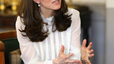 """Kate Middleton admits she """"would not hesitate"""" to put Prince and Princess in therapy"""
