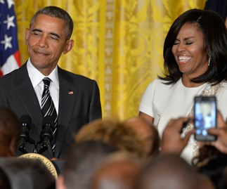 President Obama has audience in stitches with Black History Month joke