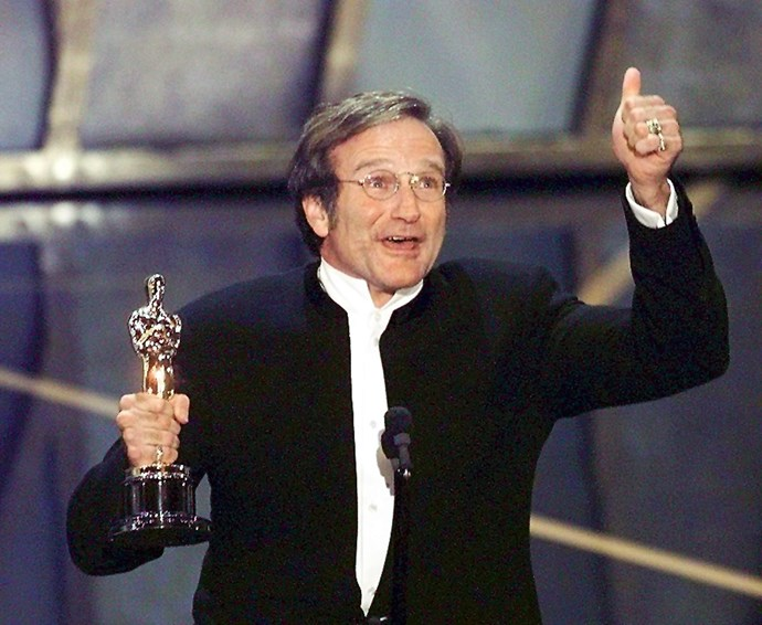 "**Robin Williams, Best Actor, Good Will Hunting (1998)** ""This might be the one time I am speechless,"" said Williams when he accepted his Oscar for Good Will Hunting. And true to form, the star had the audience in stitches as he shared some advice his father once gave to him. ""Most of all, I want to thank my father, up there, the man who when I said I wanted to be an actor, he said, 'Wonderful. Just have a back-up profession like welding.'"""
